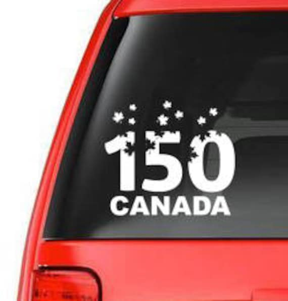 Years Canada Car Window Vinyl Decal Vehicle Decal - Custom vinyl car decals canada