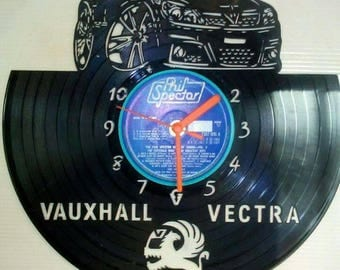 Vauxhall vectra car record clock