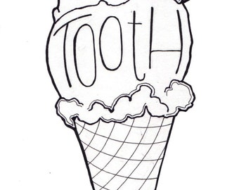 Sweet Tooth Print