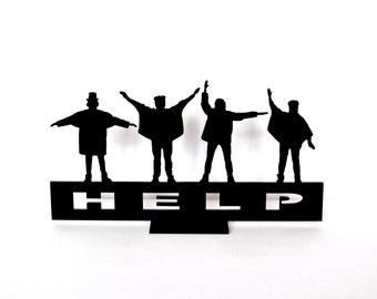 Beatles Help, beatles souvenir, beatles gift, beatles statuette