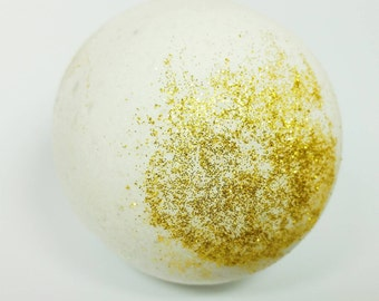 Witch and Wizard Sorting Bath Bomb ~ Vegan Bath Bomb ~ Turns ENTIRE Bath Water Blue, Yellow, Red, or Green ~ Magical ~ Choose Scent