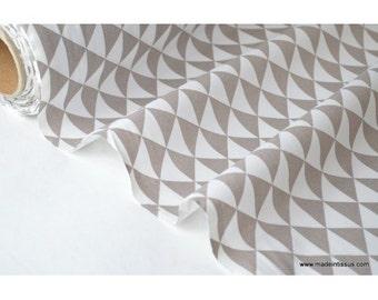 Printed cotton fabric design diamonds Mole