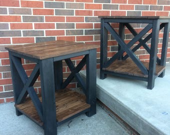 Porter End Table-Black {Northwest Indiana Pickup and Delivery Only-No Shipping Out of State}