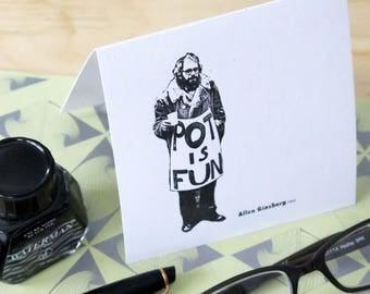 Ginsberg Greeting Card