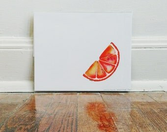 Blood Orange Print