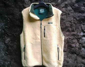 Authentic 100% AIGEL Fleece Vest Polartec, Womens Large