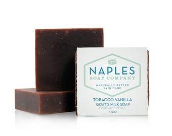 Tobacco Vanilla Goat's Milk Natural Soap