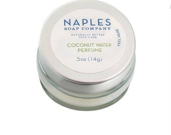 Coconut Water Solid Perfume
