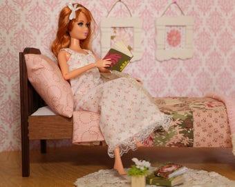 Barbie, Diorama, Onesixth, Handmade, Miniature, Doll Bedroom