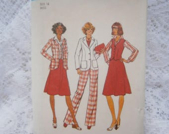 Simplicity 1976 pattern #7376 sz 14