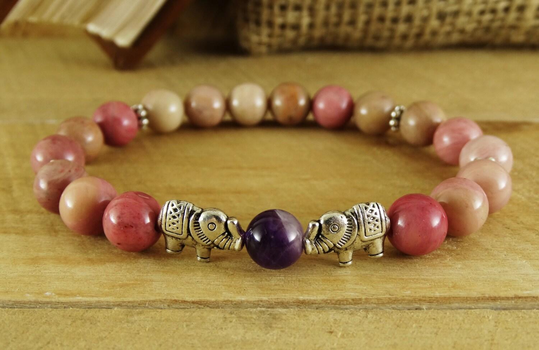 fertility gemstone bracelet beaded bracelet womens jewelry for