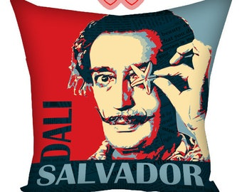 Salvador Dali paintings print pillow, Printing on pillows, Salvador Dali Print, Salvador Dali poster, Salvador Dali paintings