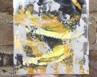 Surface 2 // acrylic on canvas // original art // colorful acrylic painting