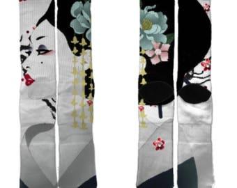 The Geisha Crew Socks