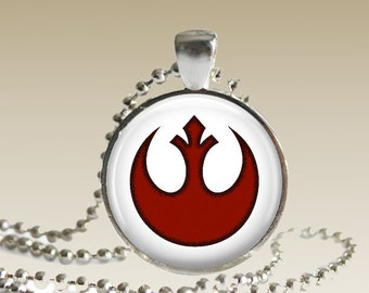 Star Wars Rebel Alliance Necklace Rogue One Pendant Star Wars Jewelry SWN1
