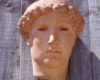 Stone Apollo Head Wall Planter - Ideal for Garden or Patio