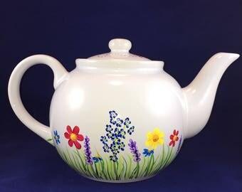 Spring Garden Teapot