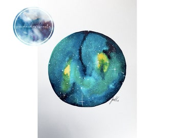 ORIGINAL - Watercolour Galaxy