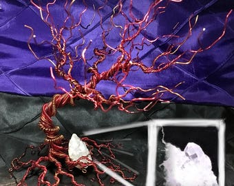 Fire element ring/earring tree