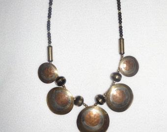 Vintage Mixed Metal Necklace
