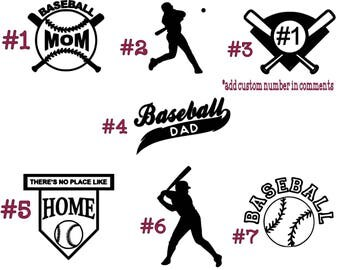 Baseball Decals