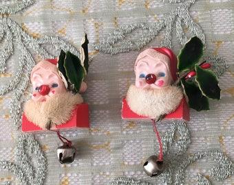 1950's Santa Claus Pins