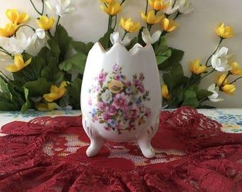 1960's Porcelain Easter Egg Vase