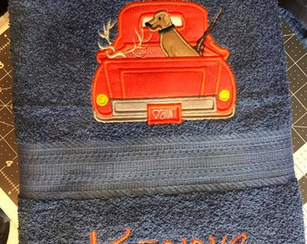 Personalized Hunting Towel