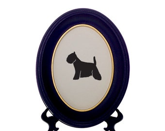 West Highland Terrier / Westie / Westy Dog Bespoke Framed Paper Cut-Out Silhouette - Custom Design Available