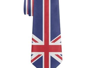 British Flag Union Jack All Over Neck Tie