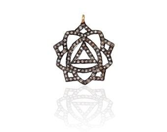 SDC-1406 Pave Diamond Charm