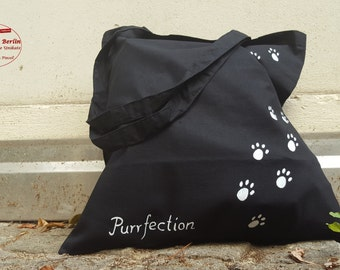 Cat paws tote bag - Purrfection