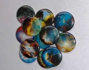 """Galaxy 1"""" Buttons (set of 20)"""