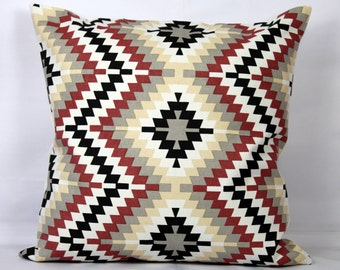 Geometric throw pillows holiday pillows christmas throw pillow covers 18x18 pillow covers 16x16 modern pillows  outdoor pillows decorative