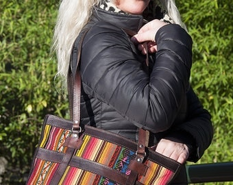 Handbag of the Andes, model Rainbow