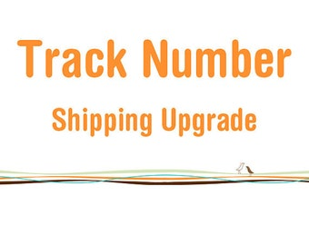 Upgrade to tracked postage