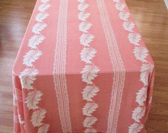 Vintage Bedspread/Tablecloth Burlington House/Burlington Mills,Vintage  60 Plus Year Old Bedspread Raised Scrolled. Vintage Old Tablecloth