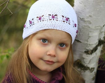Crochet pattern hat, patterns hat, crochet hat (0-3 months, 3-6 months, Toddler, Child, and Adult sizes) crochet hats, summer hat pattern