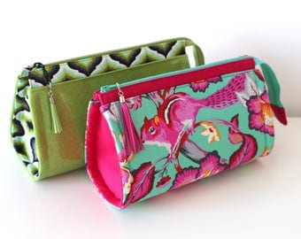 Reno Rounded Makeup Bag - PDF Sewing Pattern