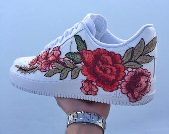 Custom Nike Air Force 1 Low | Winter Rose
