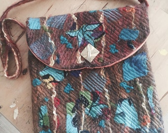 Hippy Bag Patch Work