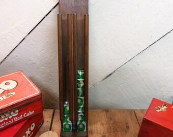 The OXO Tower (Cube Dispenser) Vintage Dispenser Rack