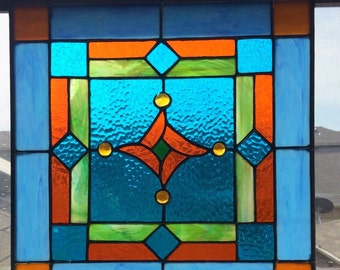 Custom Stained Glass Panels Available