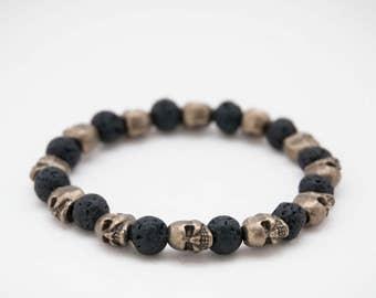 Bracelet death's head / Skull Bracelet Pk13