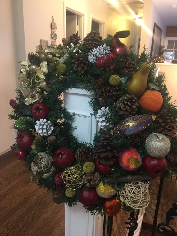 Beautiful Wreaths Made With Your Choice of Materials