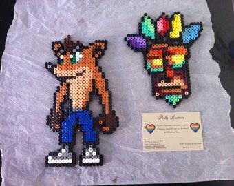 Crash Bandicoot Pixel Art / Perler Beads