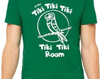 Disney Shirts Tiki Room Shirt In the Tiki Tiki Tiki Tiki Tiki Room Disneyland Shirt Disney World Shirt Disney Cruise  Magic Kingdom Shirt