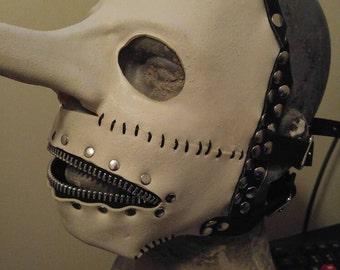 Slipknot Chris Fehn self titled/Iowa mask.
