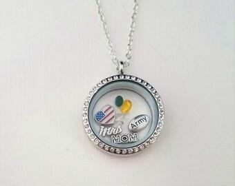 ARMY Necklace / ARMY jewelry / Army charm / Army Wife / Army Gift / Army Mom / Army wife gift / Military Necklace / Military Jewelry / SALE