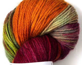 Naturally dyed multicolor yarn Kirjo